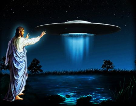 UFOJesusNetwork Background by UFOJesusNetwork