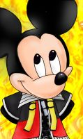 King Mickey with bg by koos-tall