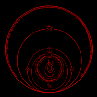 Fire Spell Runic Circle by Celesta1805