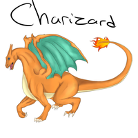 Charizard. He's too hot for you. by NeonDefined