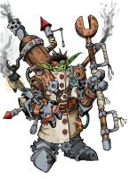 clokwerk goblin by chief-orc