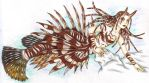 Lionfish Mermaid by zepheenia