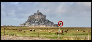 Mont Saint Michele by catalindragosh