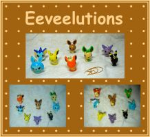 Eeveelutions by aruachan