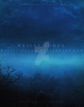 Night with Starry Sky Premade by Wesley-Souza