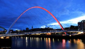 Millennium Bridge V by KERphotography
