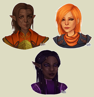 Inquisitors + Warden by cynellis