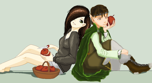 Apple Collaboration by ColinGhastslayer