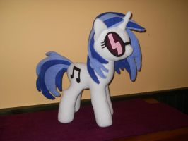 My Little Pony VINYL SCRATCH DJ PON3 custom plush by calusariAC