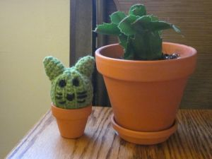 Cat Cactus by PamGabriel