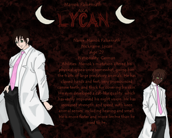 Lycan Reference Sheet by Hughesation