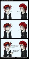 Reno meet Axel by DecemberWolves