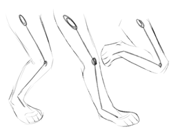 Leg Practice, Ignore by T0SHII