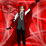 Grell flavored fanart by 1337zombiez