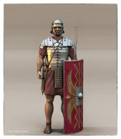 Roman Soldier by haloband