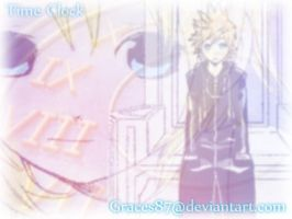 Roxas and Namine Time Clock by Graces87