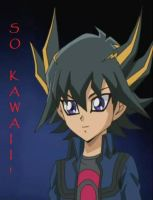 Young Yusei - Kawaii by EmmaBlueEyes
