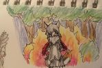 Pokemon Quest - Forest fire by AliceTheHunted