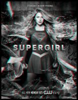 Supergirl Poster 3D by watchall