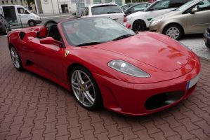 F430 Spider open FrontSide by theTobs