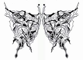 Butterfly series No. 1 by Meastro