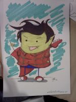 Marshall Lee Con Sketch by Twitchy-Kitty-Studio