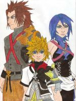 Kingdom Hearts:Birth By Sleep by Sparx-the-Fox