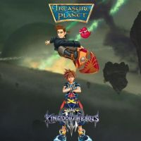 Kingdom Hearts III Worlds - Treasure Planet by luxordrocks1995