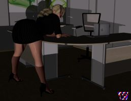 Late Night in My Office by ImfamousE