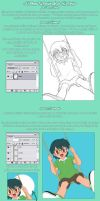 Colouring tutorial -Spanish- by LauraPaladiknight