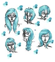 Mints hair is broken guys pick one style by Cour-cour