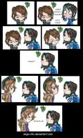 -Comic-  Under The Mistletoe by Ninja-Chic