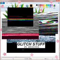 Glitch stuff|25 by ssweetheart