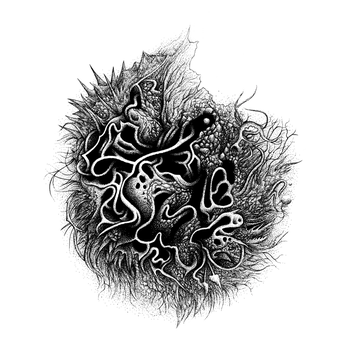 Orb 4 (Black and White) by SearingLimb