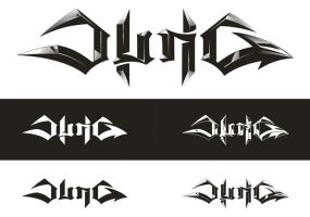 Jung nu-metal band's logo by skigfx