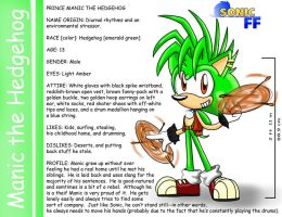 Little Manic the Hedgehog by SonicFF