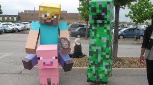 Anime North 2011 - MineCraft by jussicpark