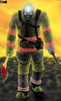 Frank the Firefighter by Shooter--Andy