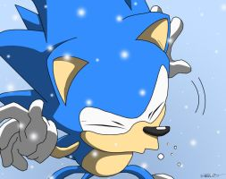 Contest Colo Sonic Sneezing by Metal-CosxArt