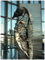 Steampunk Seahorse II by StreetCatProject