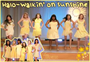 Halo-Walkin' on sunshine. :D by LuuLovesLaughs