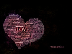 .Words of love. wallpaper pack by streamline69
