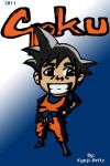 Tiny Goku by KyojiArttz