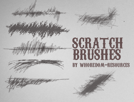 Scratch brushes by whoredom-resources