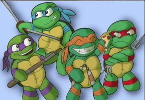 Turtle Power 2 by thekreet