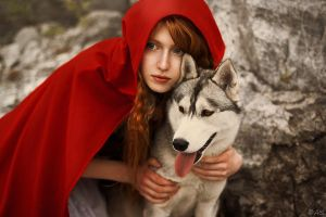 Red Riding Hood by Ann-Rentgen