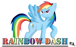 Rainbow Dash 2013 Update by ShadowNinja976