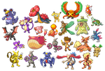 Pokemon Fusion Collection by Cobolt-NP