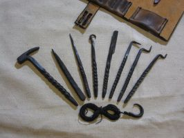 Thief's Toolkit 7 Tools by VaporGecko