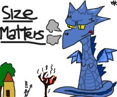 "Dragon ""Size matters"" by Makkeroe"